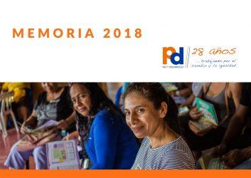 Portada memoria PyD 2018