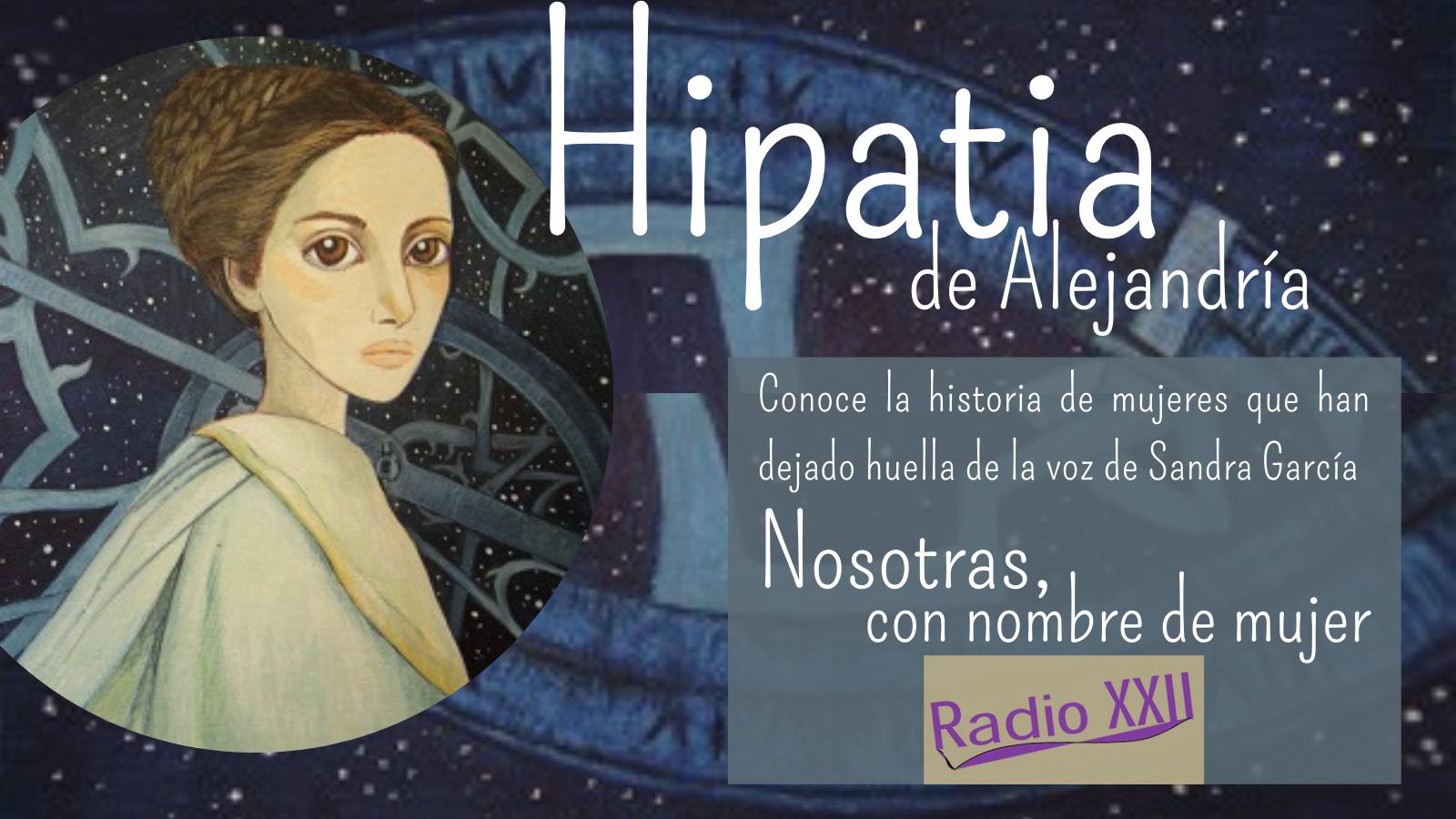 NOSOTRAS - Hipatia de Alejandría